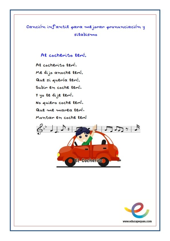 Fichas cancion infantil recurso educativo _002