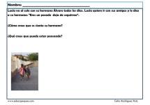 fichas para niños comunicación 03