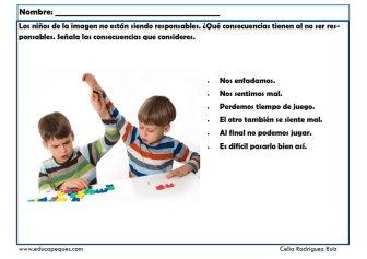 niños responsables 06