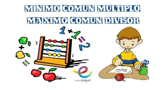 Minimo comun multiplo y maximo comun dicisor