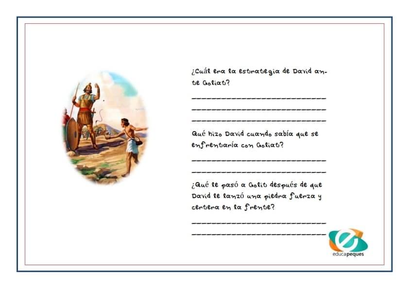 David y Goliat, mitos y leyendas, leyendas infantiles cortas, leyendas, mitos, cuentos infantiles