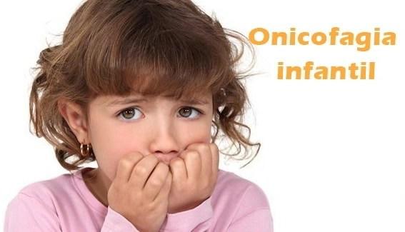 Onicofagia infantil o comerse las uñas