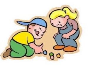 Canicas juego tradicional