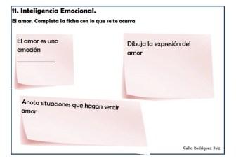 Fichas desarrollo emocional 11