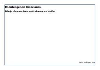 Fichas desarrollo emocional 12