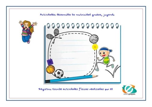 Actividades y ejercicios motricidad gruesa en niños