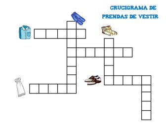 crucigramas para niños
