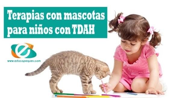 Terapias con mascotas para niños con TDAH