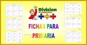 ejercicios de divisiones para niños