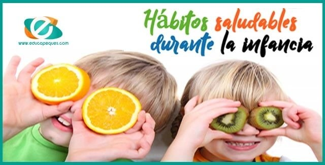 hábitos saludables niños