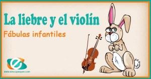 la liebre y el violín
