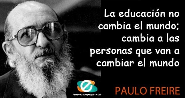 Frases Paulo Freire