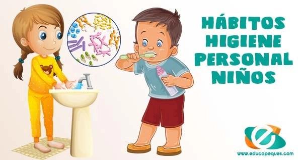 hábitos de higiene personal