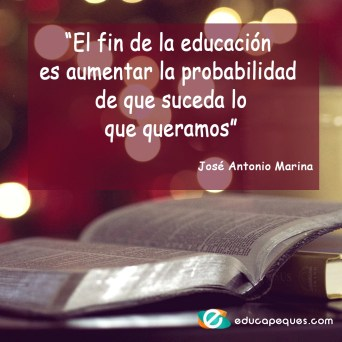 fin de la educacion