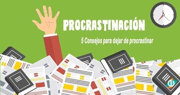 Procrastinación, procrastinar