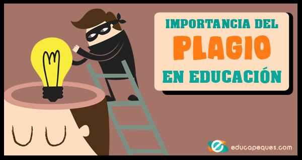 plagio en educación