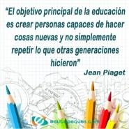 frase Jean Piaget