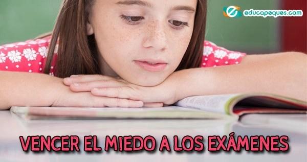 miedo a los exámenes