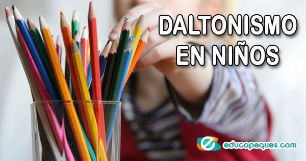 niños daltonicos, daltonismo en niños