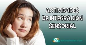 actividades de integración sensorial