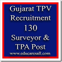 Gujarat Town Planning & Valuation  Department Recruitment 130 Surveyor & Town Planning Assistant