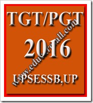 UPSESSB Published TGT-PGT Exam Pattern-2016