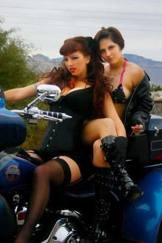 Karole Anne and Cherri Bella