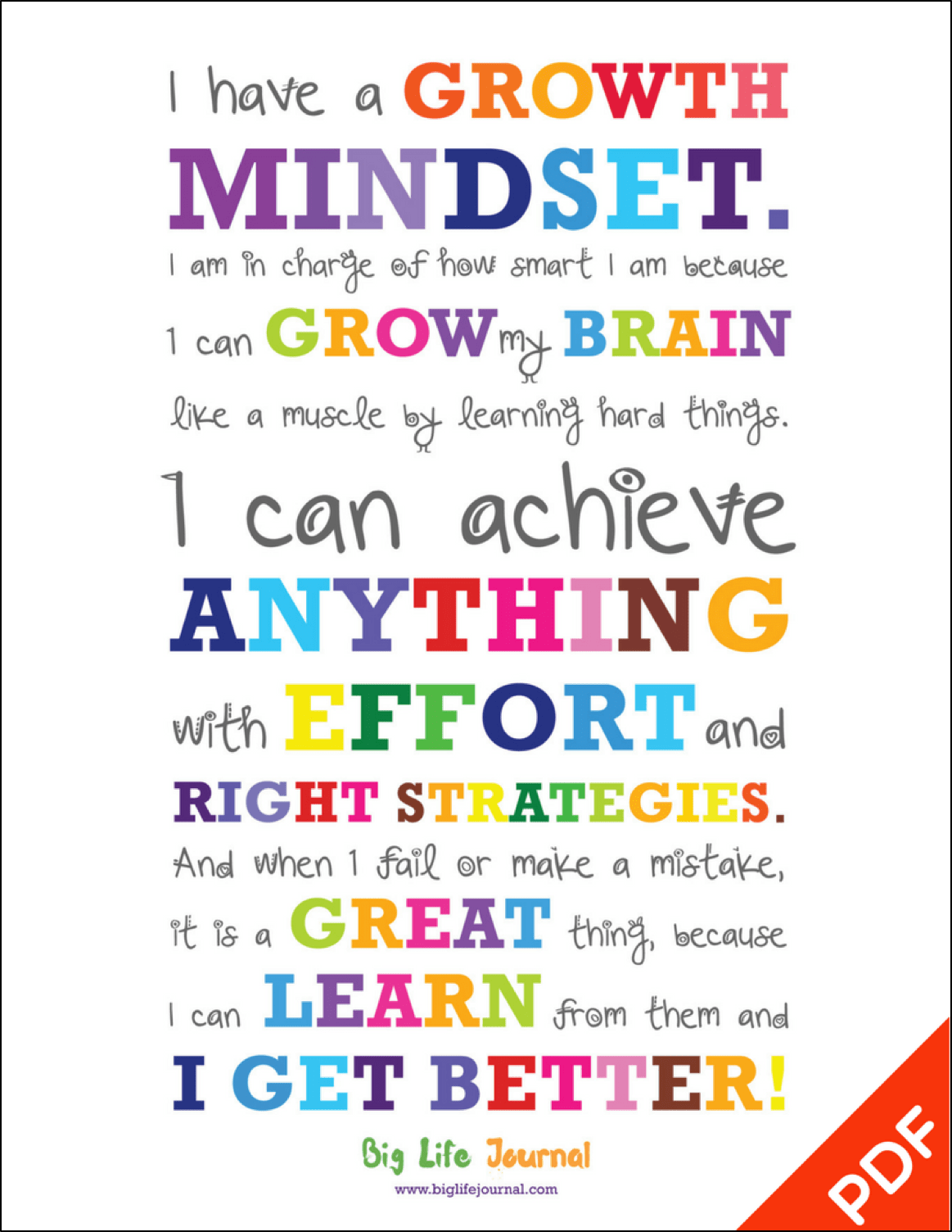 A Practical Way To Teach Growth Mindset To Kids