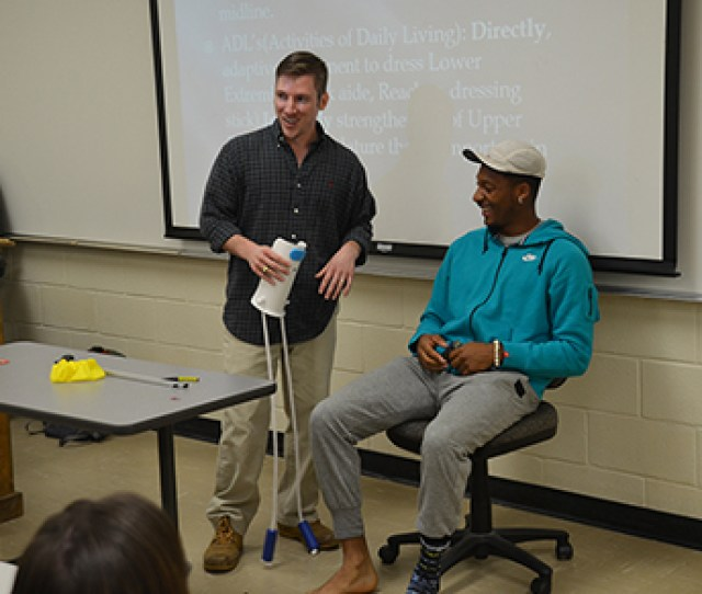 On October 23 Stewart Jackson Returned To His Alma Mater To Speak To College Of