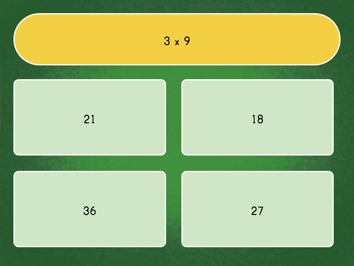 Multiply By 9 Quiz