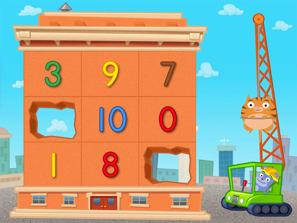 Number Recognition Demolotion Game