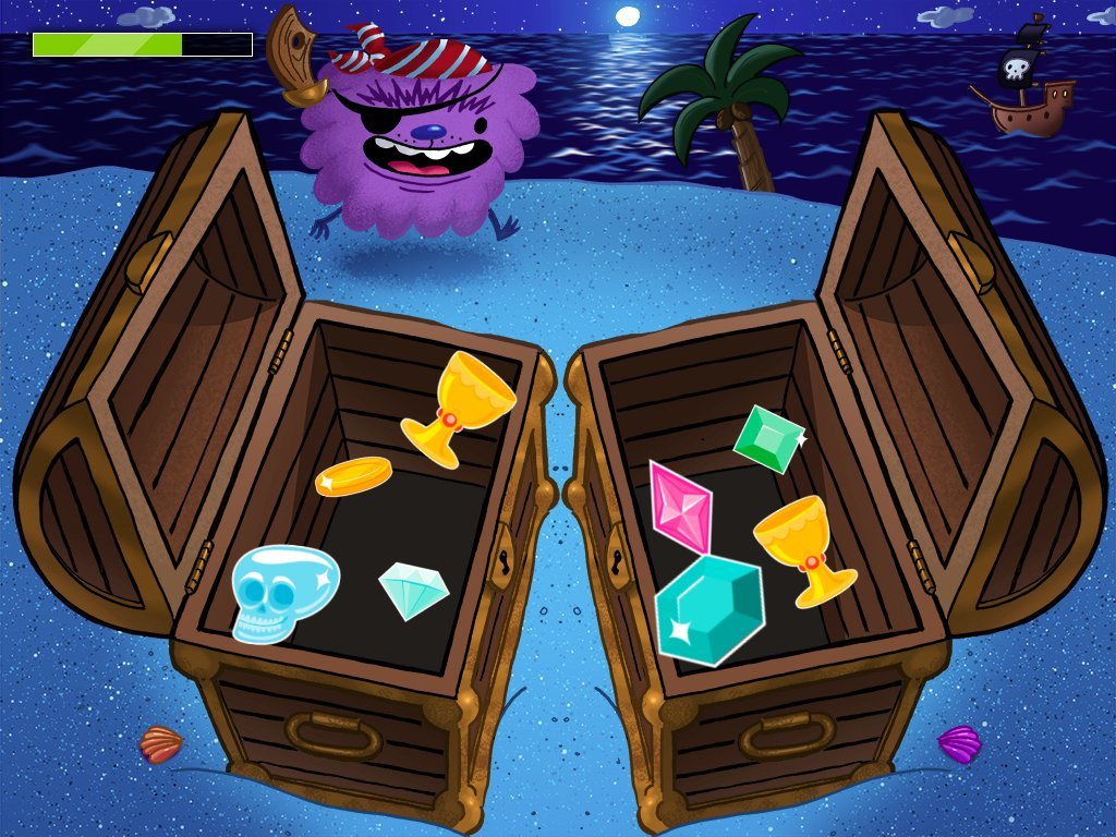 Matching Treasure Chest Game