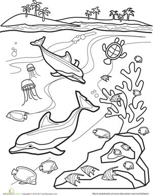 Underwater Worksheet