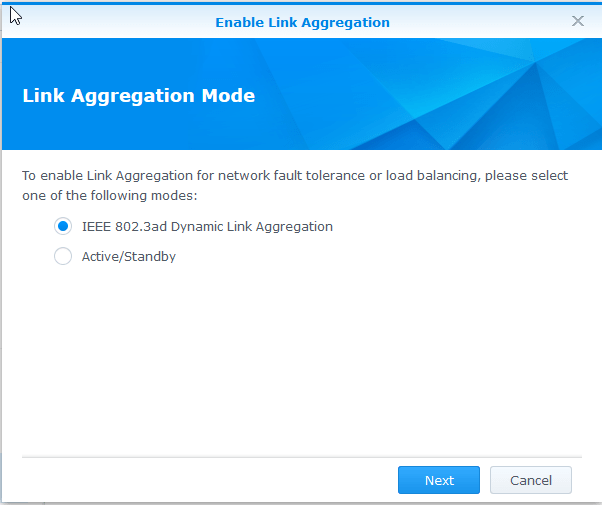 Setting up LACP on Synology NAS and HP Switches - @Saintdle