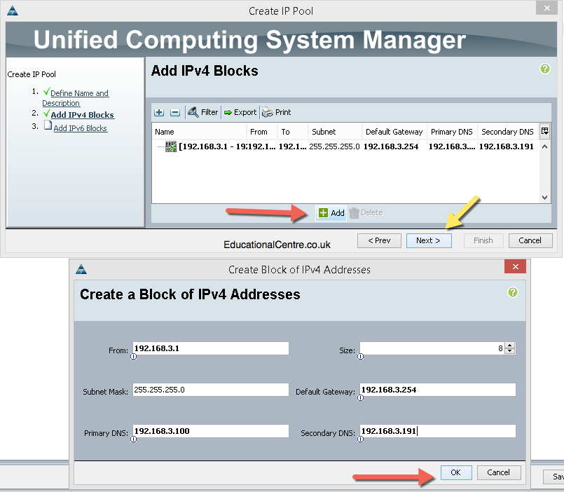 Deploy a Cisco UCS system - Part 2 - from scratch for VMware