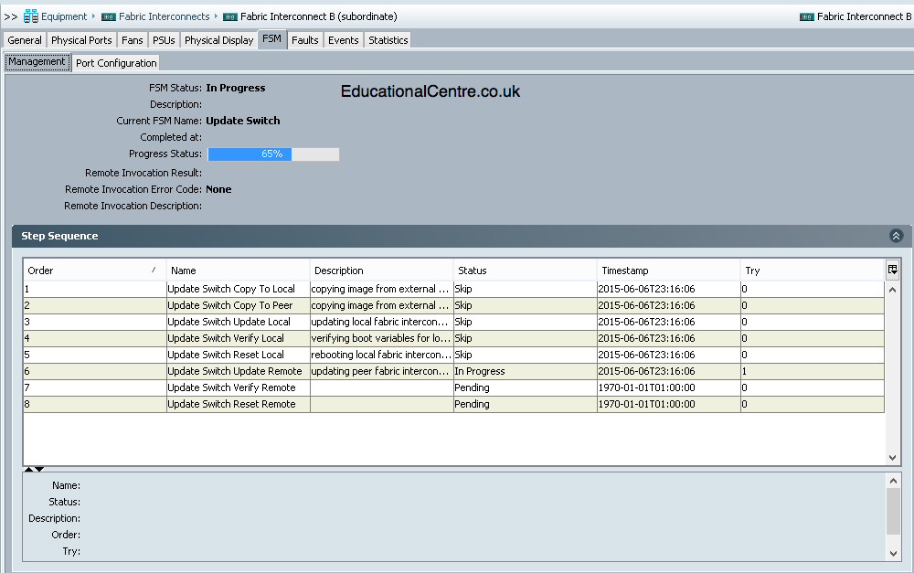 Deploy a Cisco UCS system – Part 4 – Upgrading the Firmware