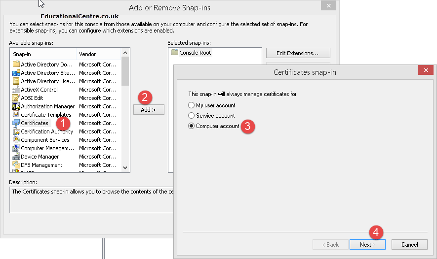 Citrix StoreFront - Using a Public SSL Certificate