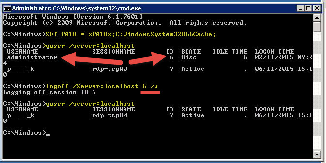 how to create new user using command prompt