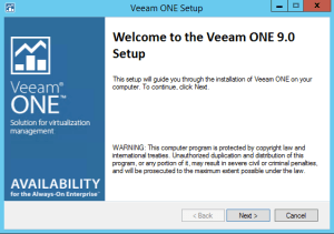 36 - Veeam ONE installer