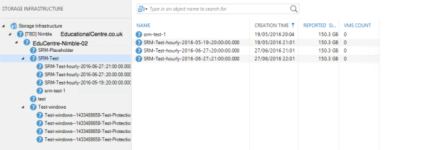 Adding Nimble Storage to Veeam - Storage Infrastructure - Nimble Array and Snapshots