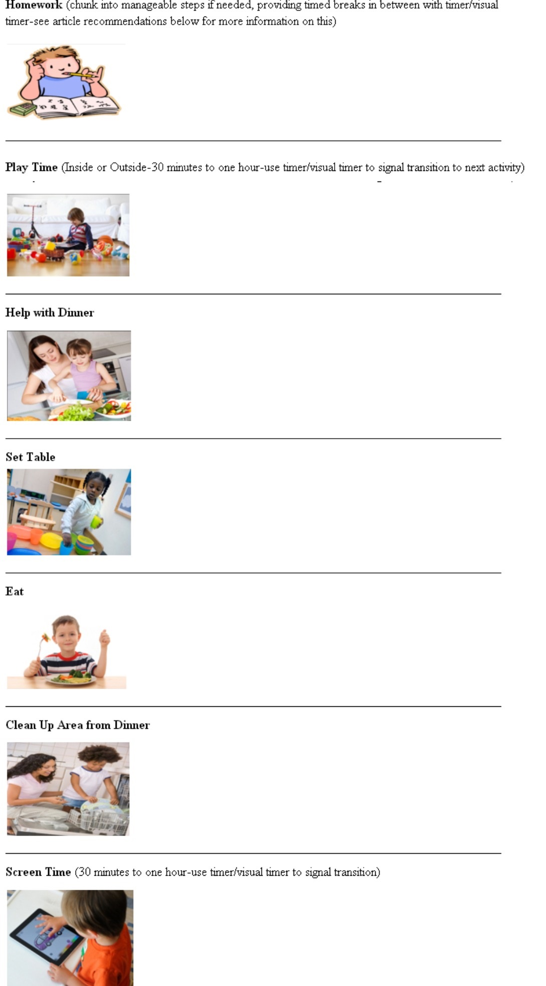 Autism Help With Homework Homework Strategies For