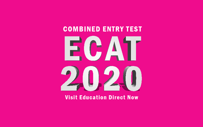 Combined Entry Test 2020 ECAT 2020