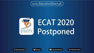 ECAT 2020 PostPoned-New Date