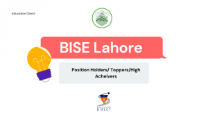 BISE Lahore Toppers