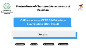 CFAP & MSA Winter Examination 2020 Result