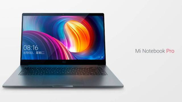 Xiaomi Mi Notebook Pro features