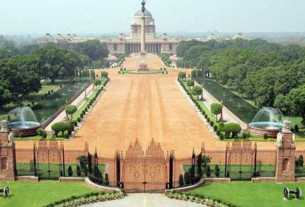 How much is the price of Rashtrapati Bhavan