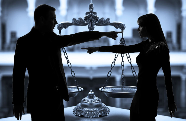 Could the law force the wife to live with her husband