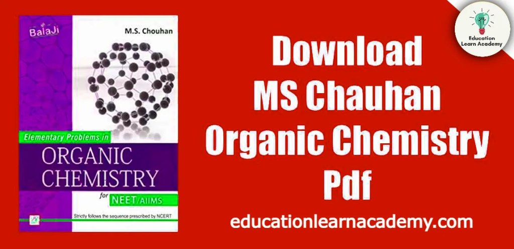 MS Chauhan Solutions For Advanced Problems In Organic Chemistry PDF