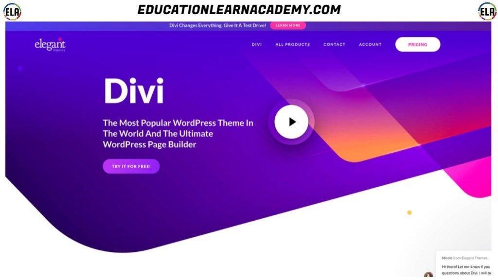 Free Download Divi Builder Plugin for WordPress Free Download